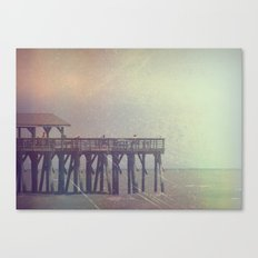 The Warm Winds Of Summer's Wreckage Canvas Print