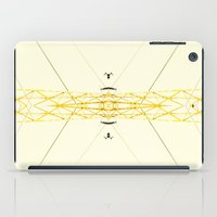 Yellow Structure iPad Case