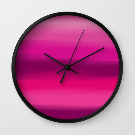 Poetry In Motion. Wall Clock