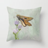 The Skipper Throw Pillow