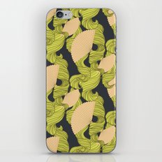 Trailing Hair and Fan // Fall Colourway iPhone & iPod Skin