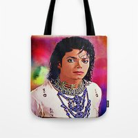 Michvel Jackson Tote Bag