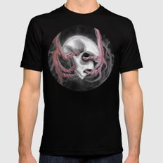 Skull Impression I Mens Fitted Tee Black SMALL