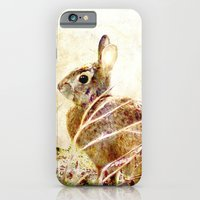 iPhone & iPod Case featuring Spring Bunny by KarenHarveyCox
