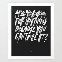 FELT Art Print