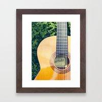 Artista Guitar Framed Art Print