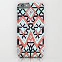 Geometric Mountains iPhone & iPod Case