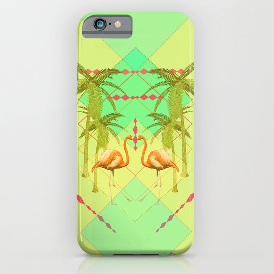 go flamingo, go ! iPhone & iPod Case