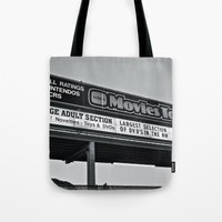 Movies To Go Tote Bag