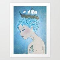 Sailor's Daughter Art Print