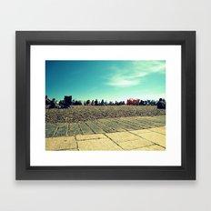 Brighton Beach Framed Art Print