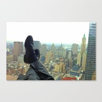 New York Office View Canvas Print