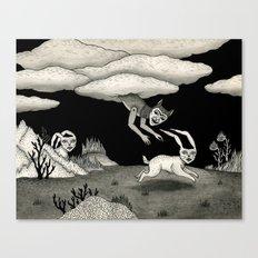 The Abduction Canvas Print