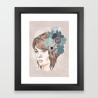 16 Bit Framed Art Print