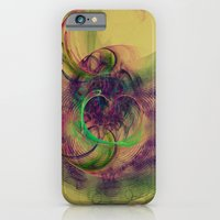 iPhone & iPod Case featuring Phantom Heart Nebula Fractal Galaxy Art by Virtualkee