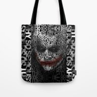 Halloween Psycopath Clow… Tote Bag