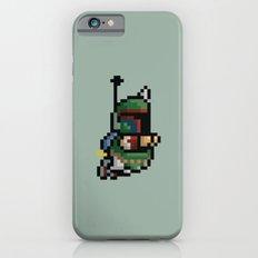StarWars Bobba Fett Pixel iPhone 6 Slim Case