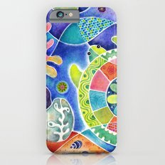 Sea Turtle Abstract Slim Case iPhone 6s