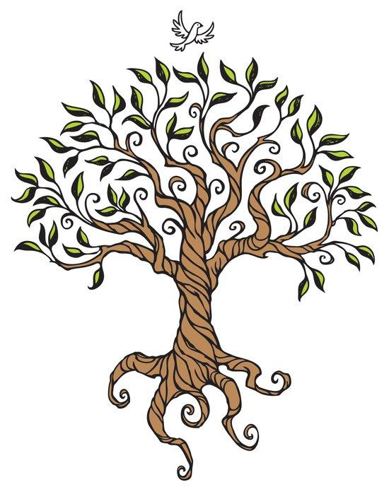 Shirley's Tree Art Print