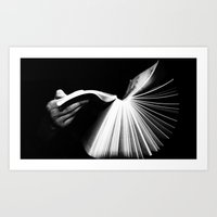 Just Let Go Art Print