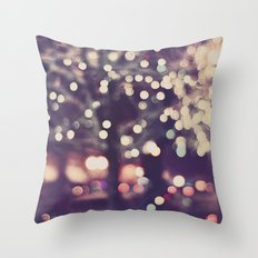 Christmas Night Throw Pillow