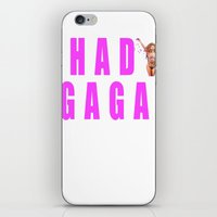 Sip champagne liked Shady Ga Ga iPhone & iPod Skin