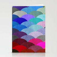 house Stationery Cards featuring Scales by Steven Womack