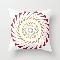 Circle 3B Throw Pillow