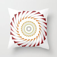 Circle 3B Throw Pillow