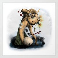 Ectoplasmic Manifestatio… Art Print