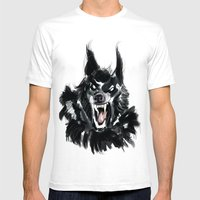 The Werewolf Mens Fitted Tee White SMALL
