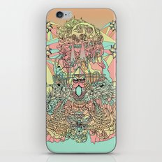 The Functioning Parts iPhone & iPod Skin