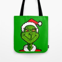 How Grinchy! Tote Bag