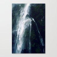 Bowen Falls (3) Canvas Print