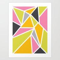 Diaganoid Series: Confec… Art Print