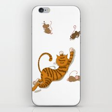 Cat and Mouse iPhone & iPod Skin