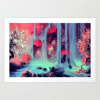 Protect me from what I want Art Print