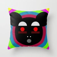 Oh Panda! Throw Pillow