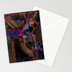 Rising From Darkness Abstract Stationery Cards