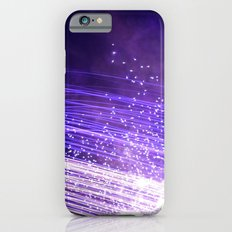 Purple galaxy iPhone 6 Slim Case