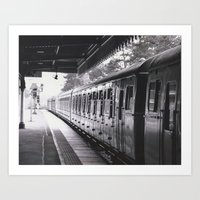 All Trains Lead To Chist… Art Print