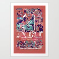 ACT 1 Art Print