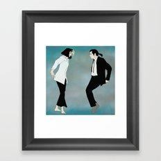 Pulp Fiction Versus Framed Art Print