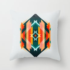 Broken Diamond - Incalescence Throw Pillow