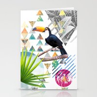Tropical Mess Stationery Cards
