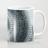 WINTER LEAVES MANDALA Mug