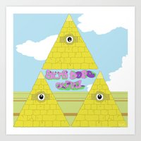 Watch The Tomb Art Print