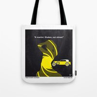 No277-007 My Goldfinger minimal movie poster Tote Bag