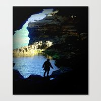The Mystery Shadow Canvas Print