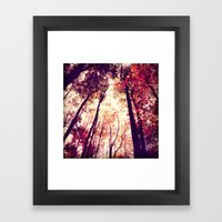Above And Beyond Framed Art Print